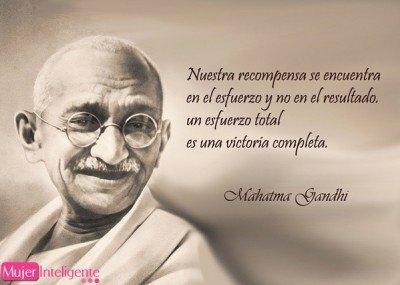 frases celebres de Gandhi amor