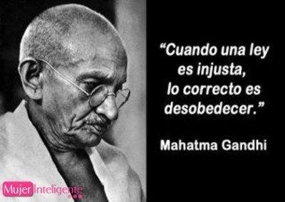 frases celebres Gandhi