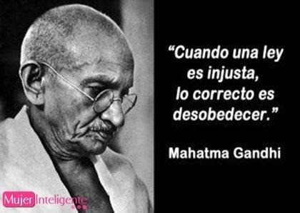 Las mejores frases celebres Gandhi