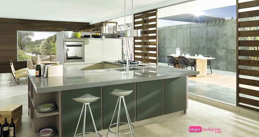 Amoblamiento integral para el hogar cocinas pr cticas for Cocinas pequenas y practicas
