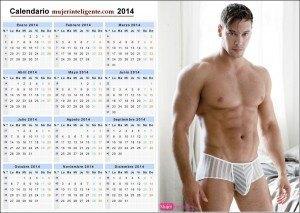 Calendario 2014 chicos guapos y sexys