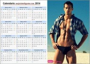 Calendario chicos guapo 2014 bañador sexy