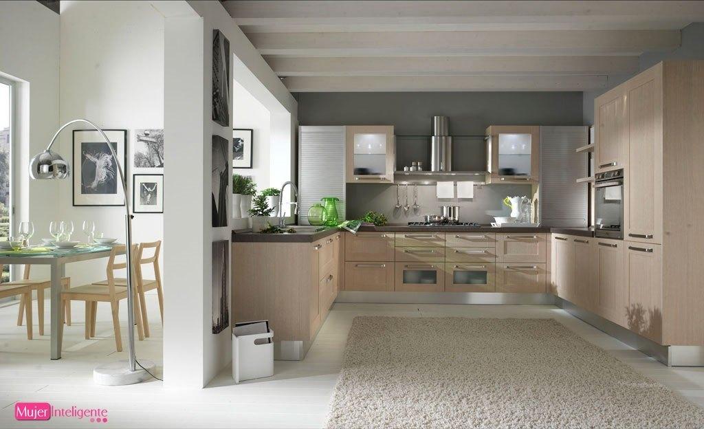 Amoblamiento integral para el hogar cocinas pr cticas - Cocina en forma de u ...