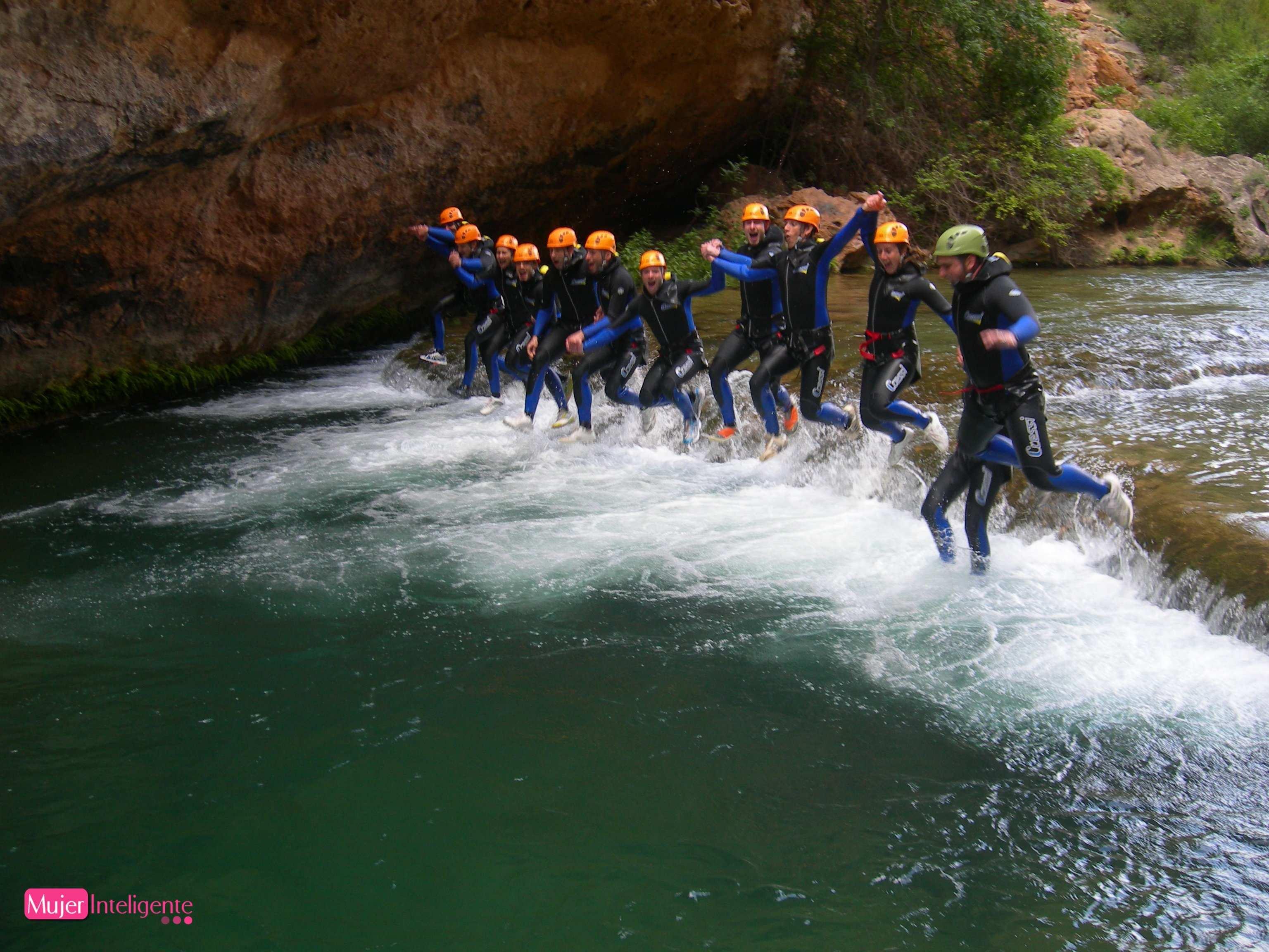 Vacaciones diferentes con deportes de aventura