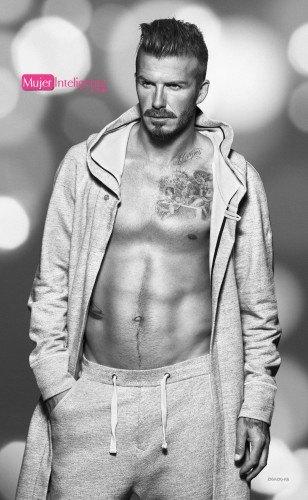 David Beckham en calzoncillos