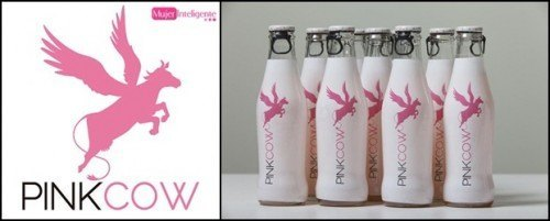 LOGO PINK COW-BOTELLAS