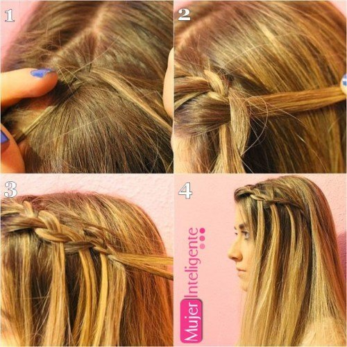 Peinados originales trenzas y recogidos mujer inteligente - Como hacer trenzas sencillas ...