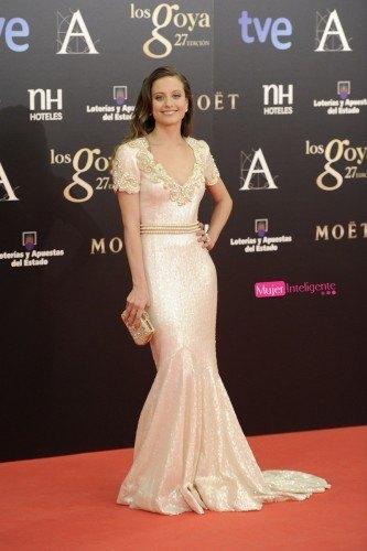 Mejor vestidas Goyas 2013_michele_jenner