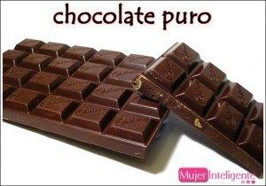 chocolate, cacao puro, propiedades