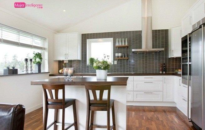 Amoblamiento integral para el hogar cocinas pr cticas for Cocinas bonitas y practicas