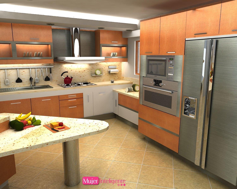 Cocinas pr cticas mujer inteligente for Muebles de cocina en l