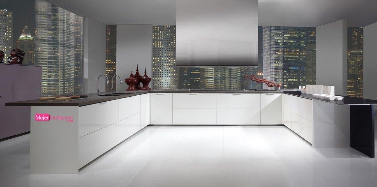 Amoblamiento integral para el hogar cocinas pr cticas for Cocinas sin muebles arriba