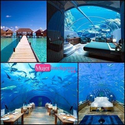 Los hoteles m s originales del mundo mujer inteligente for Conrad maldives precios