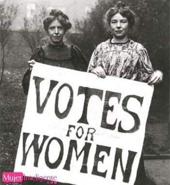 El voto femenino aniversario