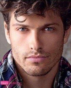 chico guapo mirada seductora ojos bonitos