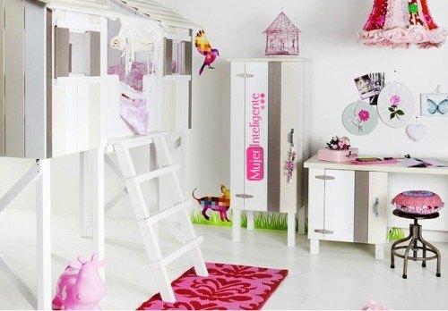 Ideas para decorar habitaciones infantiles mujer inteligente - Decorar habitaciones infantiles ...