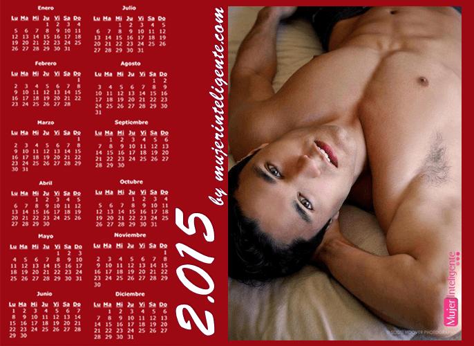 hombres calendarios: