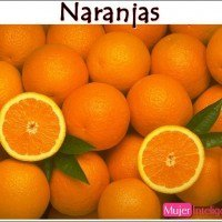 Naranjas, mandarinas, alimento sano y saludable