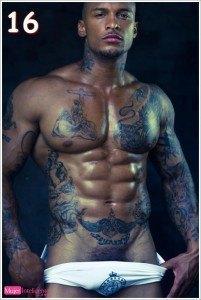 negro guapo con buen cuerpo