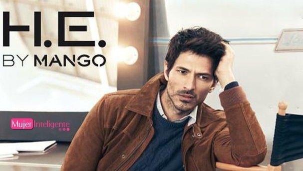 Andres Velencoso nueva cara de la linea masculina de Mango