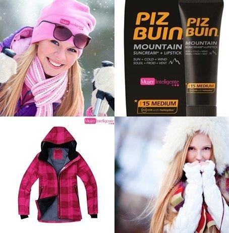practicar deportes de invierno-crema solar-gafas-gorro-bufanda-anorak
