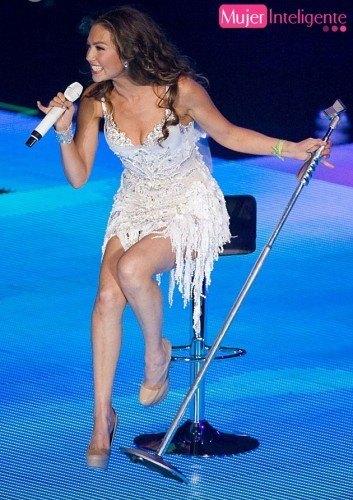 Thalía concierto en México