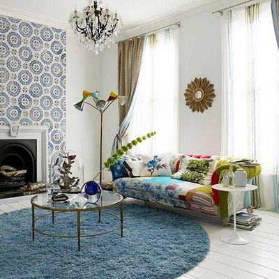 decoracion moderna y vintage