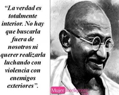 frases celebres de Gandhi esperanza