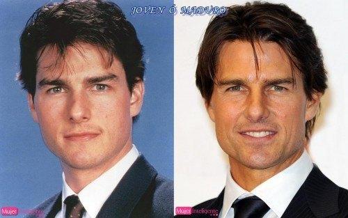 foto tom cruise de niño y hombre - famosos antes y despues
