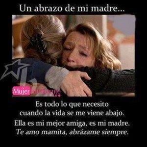 El abrazo de un madre lo cura todo - frases de madres e hijos