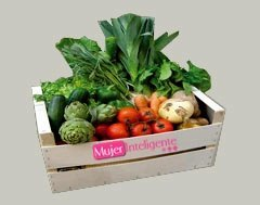 caja con verdura