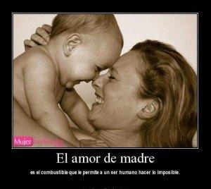 foto y frase amor de madre