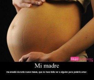 frase embarazada, amor de madre - frases de madres e hijos