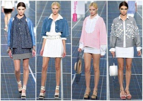 CUELLO camisero tendencias de moda 2013 primavera verano
