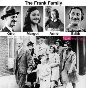 Foto de la familia de Ana Frank