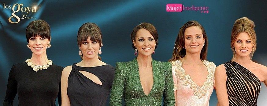 Mejor vestidas Goyas 2013
