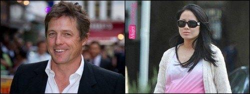 Hugh Grant ha sido padre
