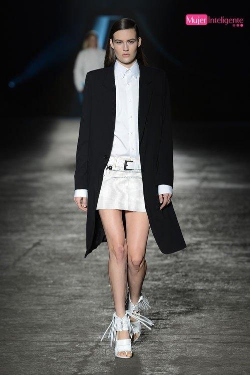 tendencias de moda 2013 primavera verano LOOK BLANCO Y NEGRO