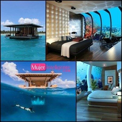 Los hoteles m s originales del mundo mujer inteligente for El hotel que esta debajo del agua