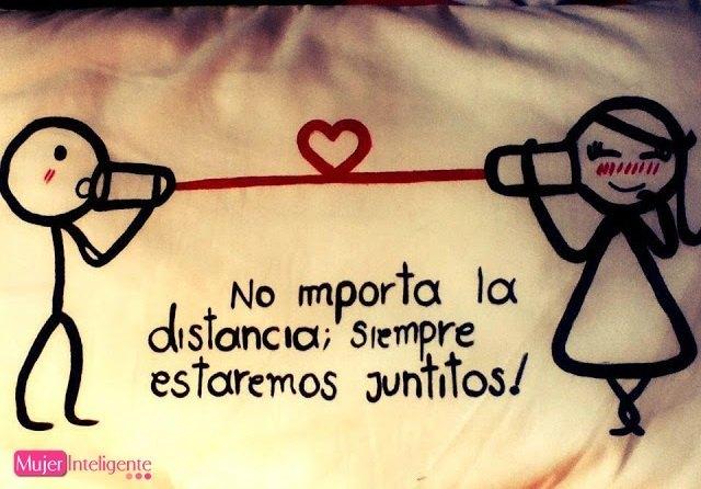 El Amor No Tiene Fronteras Amor A Distancia Frases