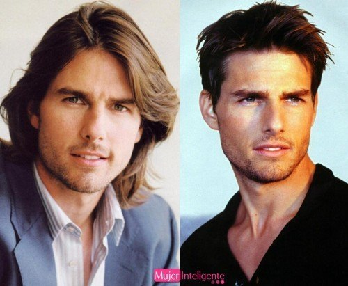 Tom Cruise cambia de look