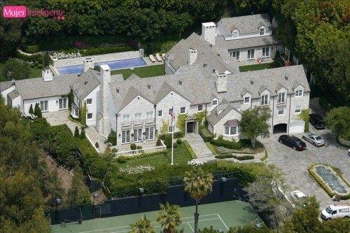 Nueve mansiones de famosos