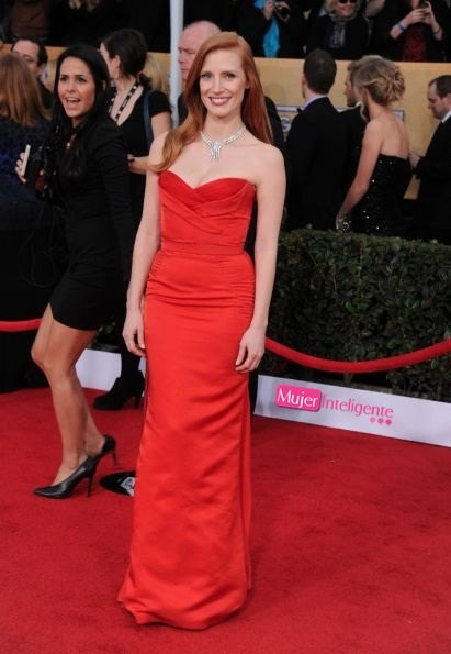 Jessica_Chastain_ Annual Screen Actors Guild Awards