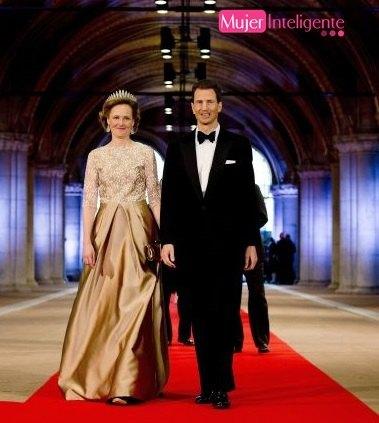 Alois de Liechtenstein y la princesa Sophie