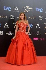 Mejor vestidas Goyas 201l3_ana_obregon_rojo