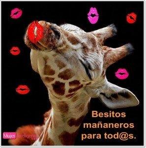 besos para felicitar un dia de la semana