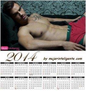 calendario hombres sexis 2014 chico guapo