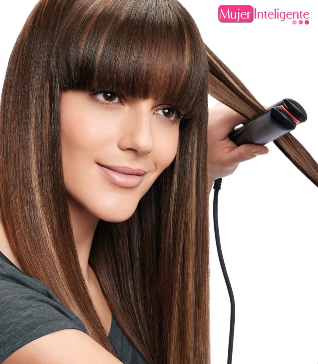 Trucos para alisar el cabello con planchas de pelo