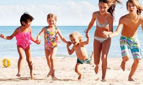Consejos de seguridad para los niños en verano