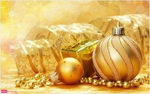imagen de navidad, adornos navideños, bolas para el árbol, felicitación navideña